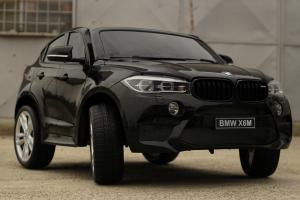 Masinuta electrica BMW X6M 12V XXL STANDARD #Negru3
