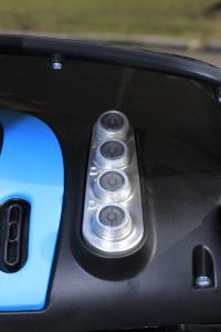 Masinuta electrica Buggati Divo 2x45W 12V PREMIUM #Negru7