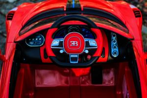 Masinuta electrica Buggati Divo 2x45W 12V PREMIUM #Rosu6