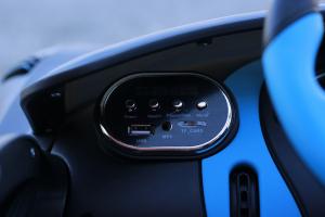 Masinuta electrica Buggati Divo 2x45W 12V PREMIUM #Silver17
