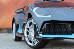 Masinuta electrica Buggati Divo 2x45W 12V PREMIUM #Silver10