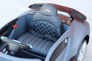 Masinuta electrica Buggati Divo 2x45W 12V PREMIUM #Silver12