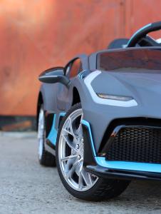 Masinuta electrica Buggati Divo 2x45W 12V PREMIUM #Silver16
