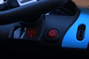 Masinuta electrica Buggati Divo 2x45W 12V PREMIUM #Silver15