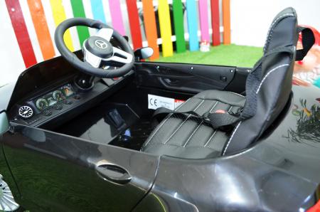Masinuta electrica copii Mercedes CLS350 50W 12V PREMIUM #Negru [9]