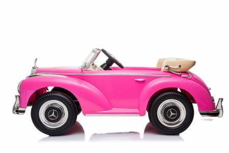 Masinuta electrica roz pentru copii Mercedes 300S [8]