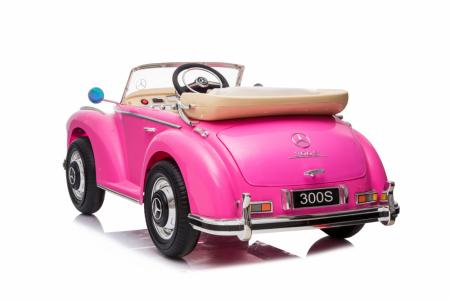 Masinuta electrica roz pentru copii Mercedes 300S [7]