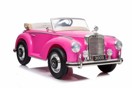 Masinuta electrica roz pentru copii Mercedes 300S [2]