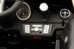 Masinuta electrica de politie Mercedes SL500 90W STANDARD #Negru4