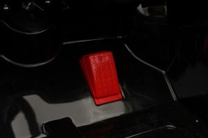 Masinuta electrica de politie Mercedes SL500 90W PREMIUM #Negru [9]