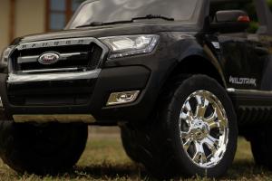 Masinuta electrica Ford Ranger 4x4 180W DELUXE #Negru [9]