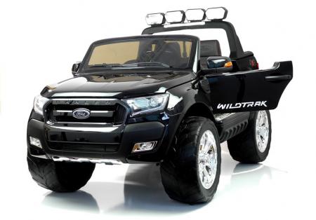 Masinuta electrica Ford Ranger 4x4 180W DELUXE #Negru [0]
