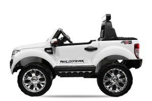 Masinuta electrica Ford Ranger 4x4 180W DELUXE #Alb4