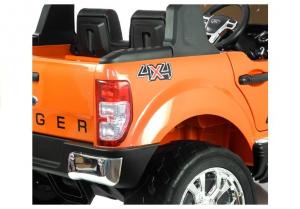 Masinuta electrica Ford Ranger 4x4 PREMIUM 180W #Portocaliu Metalizat5