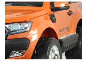 Masinuta electrica Ford Ranger 4x4 PREMIUM 180W #Portocaliu Metalizat8