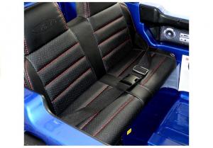 Masinuta electrica Ford Ranger 4x4 PREMIUM 180W #Albastru Metalizat9