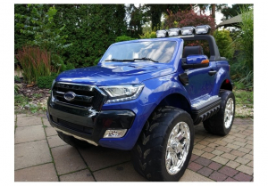 Masinuta electrica Ford Ranger 4x4 PREMIUM 180W #Albastru Metalizat [1]