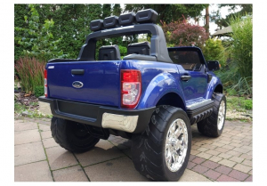 Masinuta electrica Ford Ranger 4x4 PREMIUM 180W #Albastru Metalizat [5]