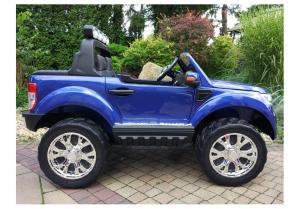 Masinuta electrica Ford Ranger 4x4 PREMIUM 180W #Albastru Metalizat [7]