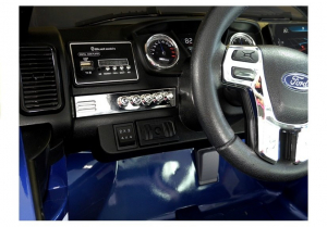 Masinuta electrica Ford Ranger 4x4 PREMIUM 180W #Albastru Metalizat [10]