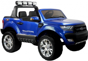 Masinuta electrica Ford Ranger 4x4 PREMIUM 180W #Albastru Metalizat [0]