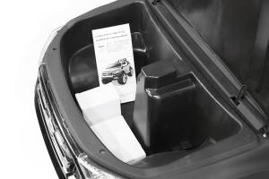 Masinuta electrica Ford Ranger 4x4 PREMIUM 4x35W #Negru Matt [9]