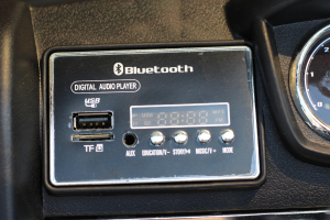 Masinuta electrica Ford Ranger 4x4 PREMIUM 4x35W #Negru Matt [13]
