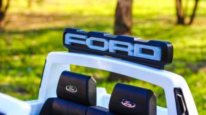 Masinuta electrica Ford Ranger F650 POLICE STANDARD 2x 35W 12V #Alb13