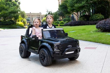 Ford Super Duty F450 pentru copii, 4x4 180W, negru [10]