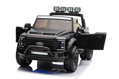 Ford Super Duty F450 pentru copii, 4x4 180W, negru [6]