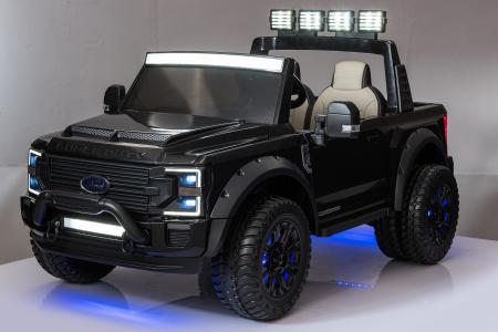 Ford Super Duty F450 pentru copii, 4x4 180W, negru [8]