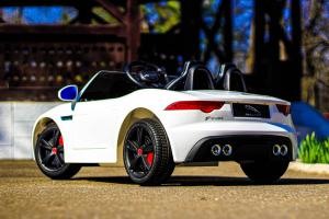 Masinuta electrica Jaguar F Type cu ROTI MOI 2x 35W 12V #ALB4