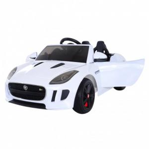 Masinuta electrica Jaguar F Type cu ROTI MOI 2x 35W 12V #ALB0