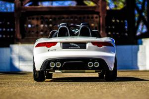 Masinuta electrica Jaguar F Type cu ROTI MOI 2x 35W 12V #ALB6