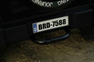 Masinuta electrica Jeep BRD-7588 90W 12V cu Scaun Tapitat #Negru15