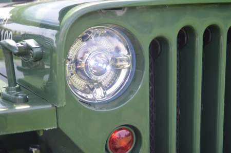 Masinuta electrica Jeep USA ARMY 4X4 180W PREMIUM #Verde [15]