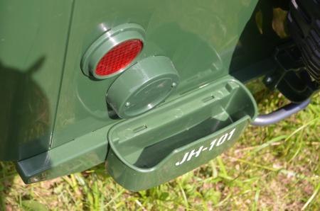 Masinuta electrica Jeep USA ARMY 4X4 180W PREMIUM #Verde [19]