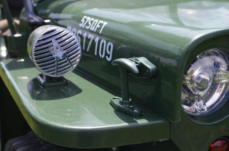 Masinuta electrica Jeep USA ARMY 4X4 180W PREMIUM #Verde [16]