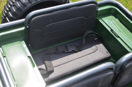 Masinuta electrica Jeep USA ARMY 4X4 180W PREMIUM #Verde [9]
