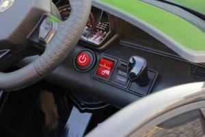 Masinuta electrica Lamborghini Aventador SVJ 2x35W 12V PREMIUM #Negru9
