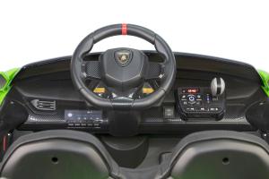 Masinuta electrica Lamborghini Veneno 180W 12V PREMIUM #Verde [3]