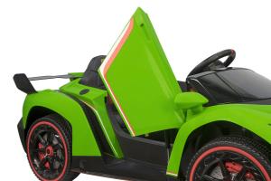 Masinuta electrica Lamborghini Veneno 180W 12V PREMIUM #Verde [1]