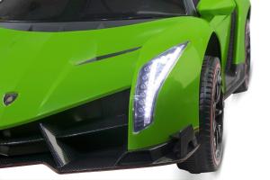 Masinuta electrica Lamborghini Veneno 180W 12V PREMIUM #Verde [9]