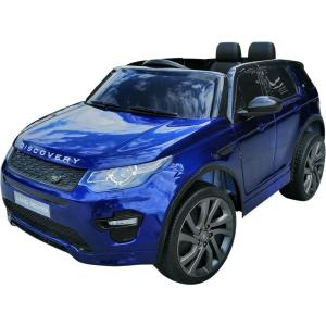 Masinuta electrica Land Rover Discovery DELUXE cu Touchscreen Mp4 #Albastru0