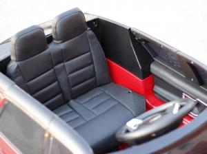 Masinuta electrica Land Rover Discovery DELUXE cu Touchscreen Mp4 #Negru6
