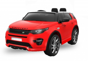 Masinuta electrica Land Rover Discovery DELUXE Rosu [0]