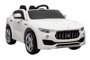 Masinuta electrica Maserati Levante 2x35W PREMIUM #Alb0