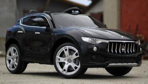 Masinuta electrica Maserati Levante 2x35W PREMIUM #Negru2