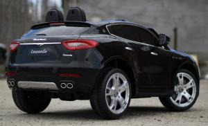 Masinuta electrica Maserati Levante 2x35W PREMIUM #Negru5