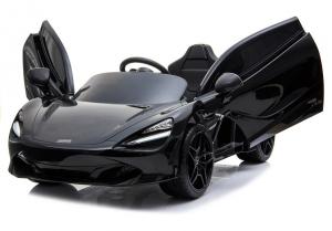 Masinuta electrica McLaren 720S 90W 12V PREMIUM #Negru [0]